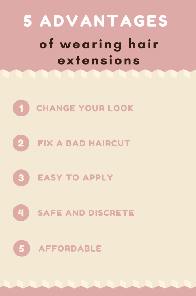 5 advantages of hair extensions