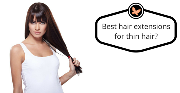 tape in hair extensions for thin hair