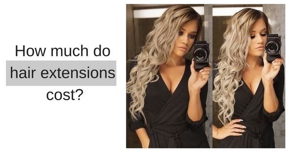 how much hair extensions cost in Canada