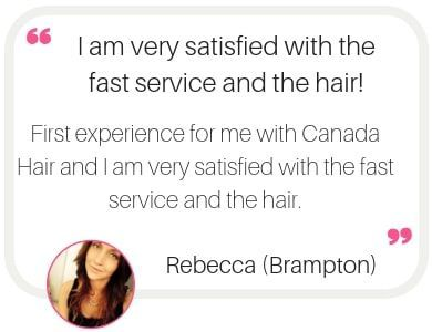Hair extensions in Brampton