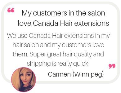 Hair extensions in Winnipeg