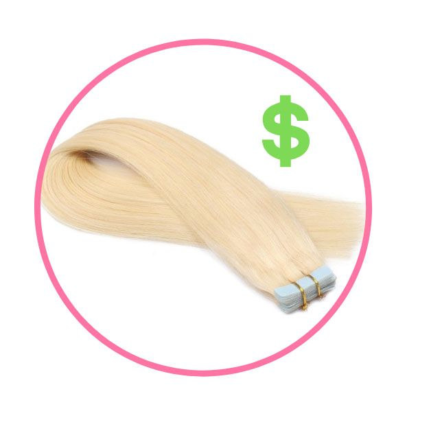 hair extensions prices