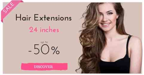 Hair extensions 24 inches on sale