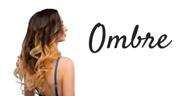 Ombre shades of hair extensions