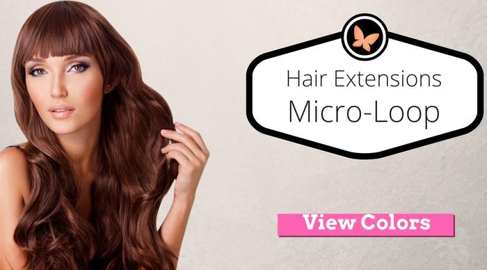 micro-loop hair extensions