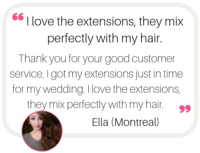 Hair extensions in Montreal