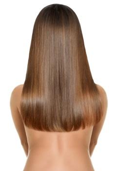 Hair extensions bra strap length
