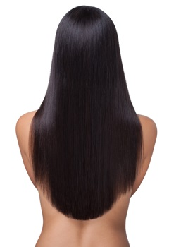 Hair extensions mid back length