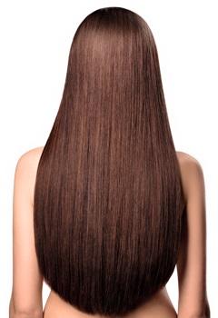 Hair extensions waist length