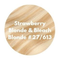 strawberry blonde bleach blonde
